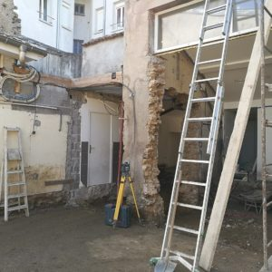 Chantier pharmacie Jalet - 8/11