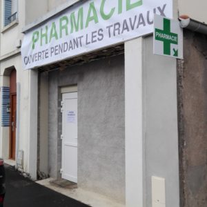 Chantier pharmacie Jalet - 7/11